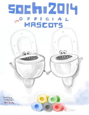 Sochi 2014 (un) Official Mascots